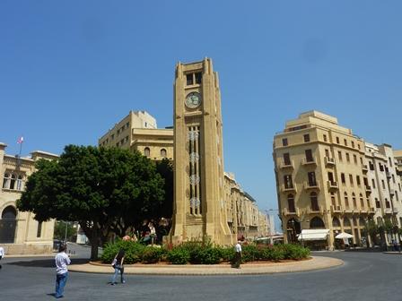 Place de l´étoile à Beyrouth