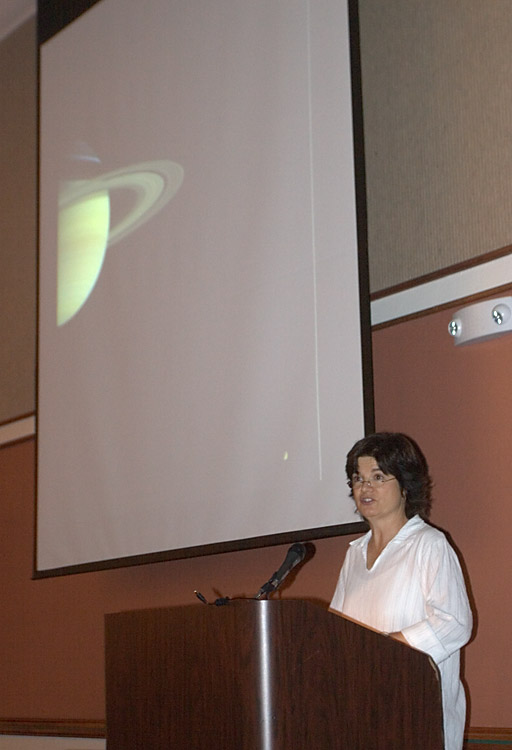 Carolyn Porco - Cassini Imaging Team Leader
