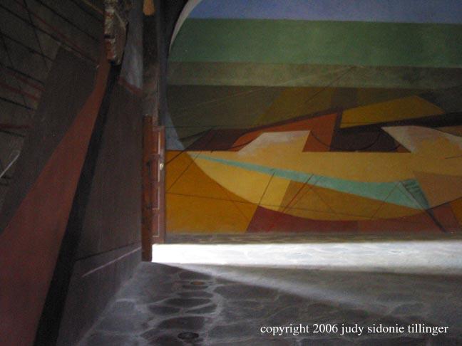 David Alfaro Siqueiros space at bellas artes