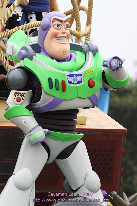Here comes Buzz