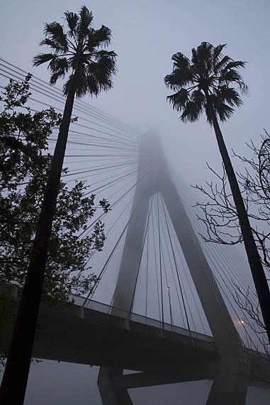 ANZAC Bridge Fog 5