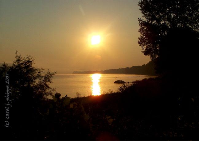 Milton, Kentucky Sunrise.