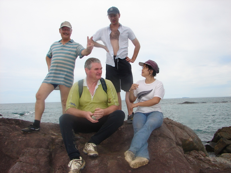 George (with the sexy legs), Warwick, Andrej, Patricia