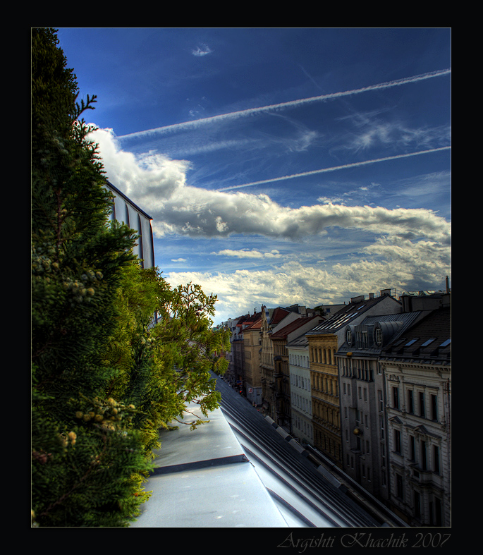 Kaiserstrasse - Our terrace view