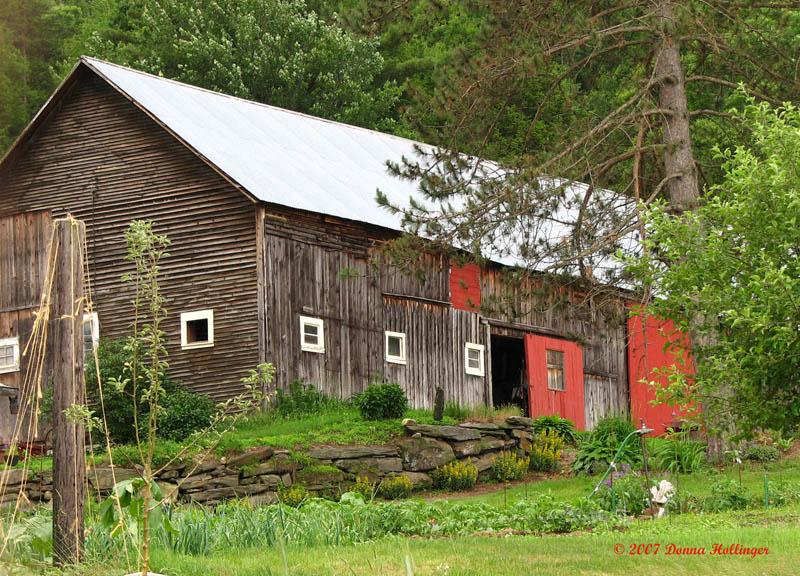 Neat Vermont Barn II