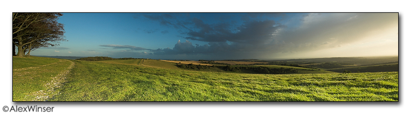 Chanctonbury Ring, View From