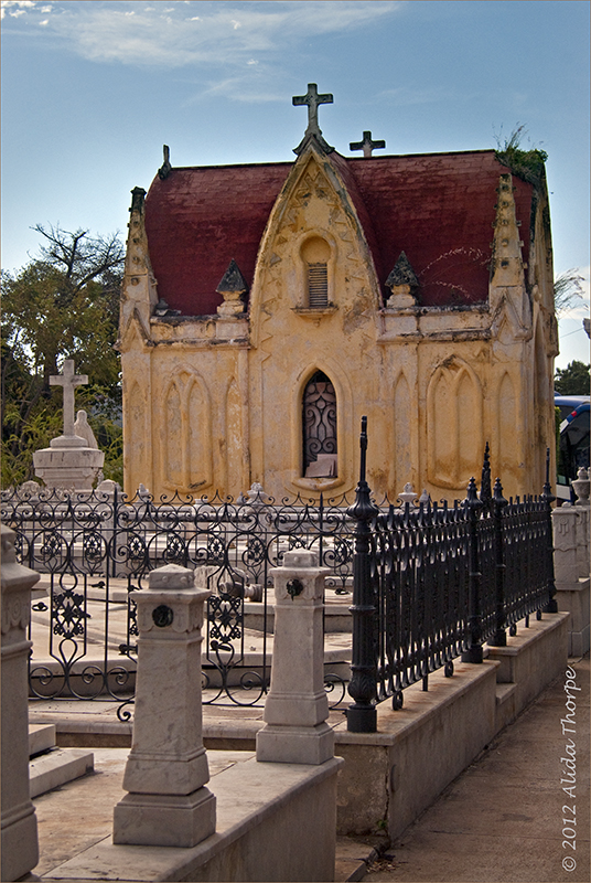 Colon Cemetery mausoleum