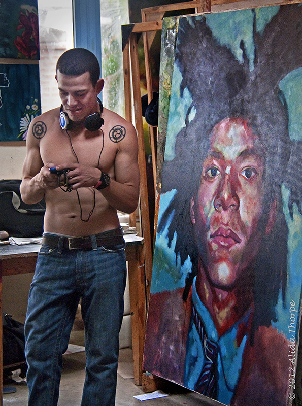 artist and his work