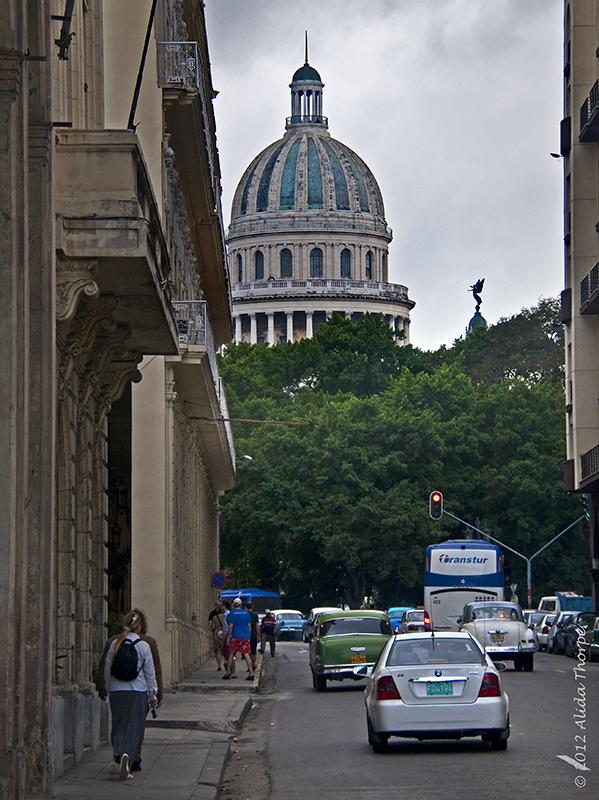 dome of el Capitolio