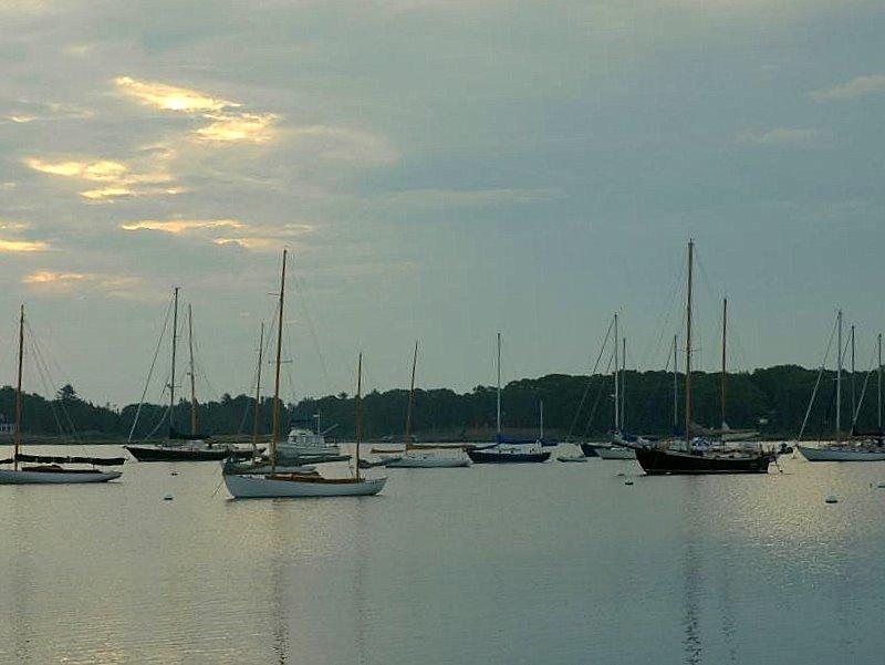 harbor on Shelter Island