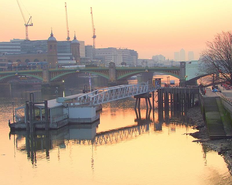 Bankside  dawn