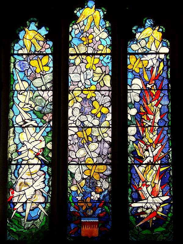 The 398th.Bomb Group Memorial Window