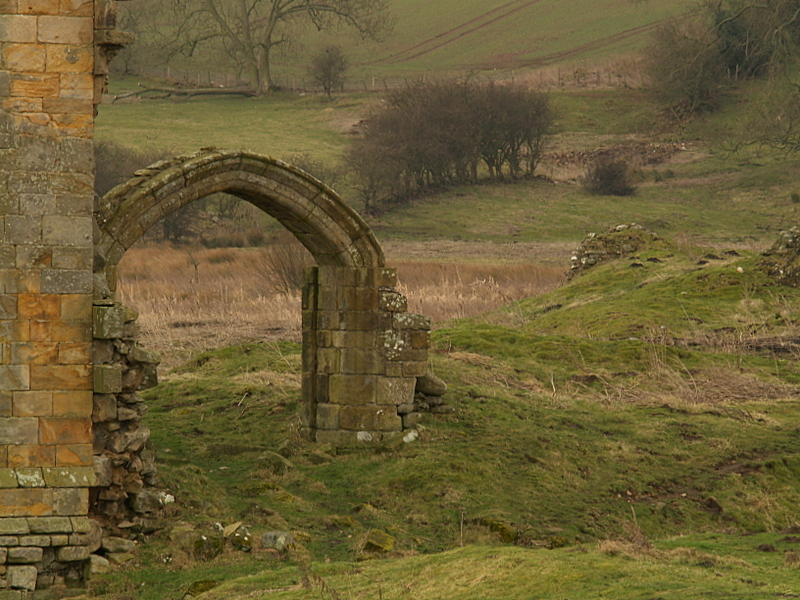 Ravensworth  Castle ; extant  remains / 2