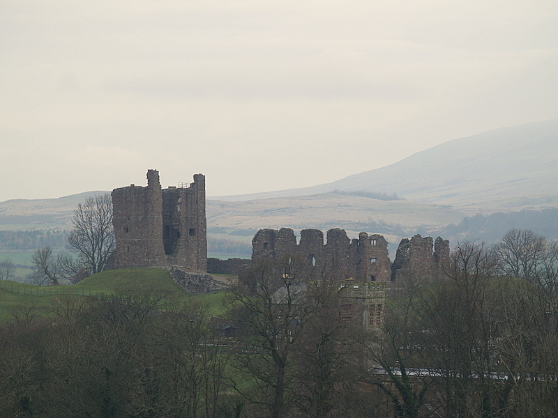 Brough Castle.