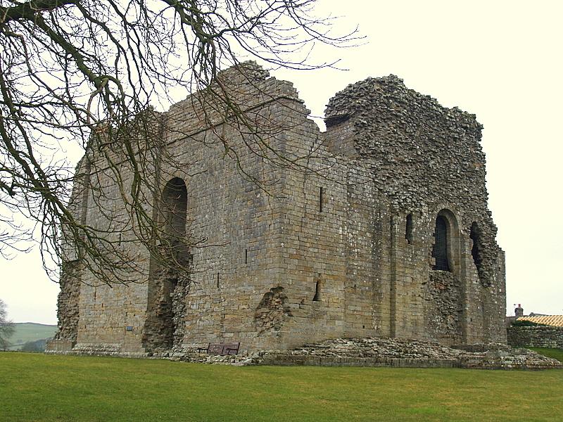 Bowes Castle,the keep.