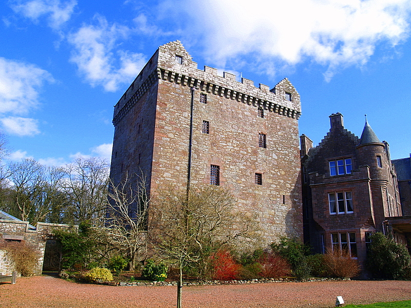 Comlongon Castle.