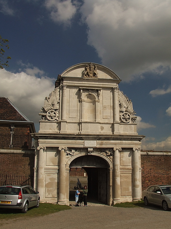 The Main Gate, C17th Century