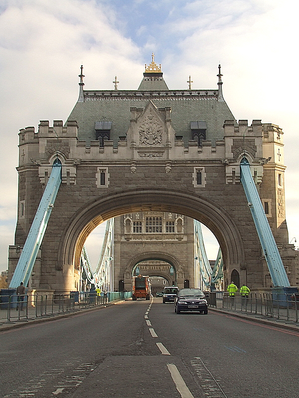 Tower Bridge,from the South side.