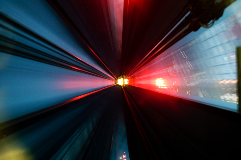 skytower elevator shaft