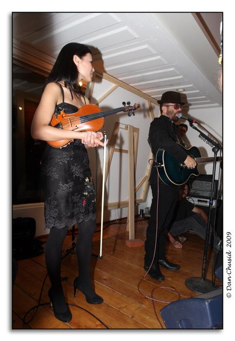 Anne Marie Calhoun And Dave Stewart