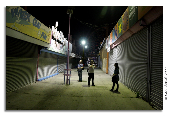 Coney Island @ Night