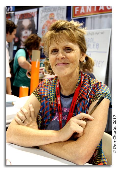 Artist Carol Tyler