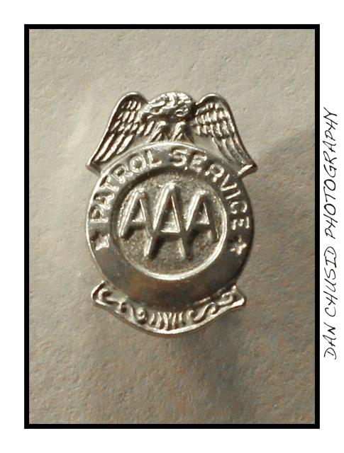 AAA Safety Patrol Badge