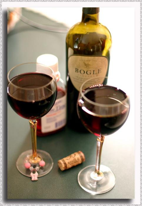 Wine & Cold Meds Toast