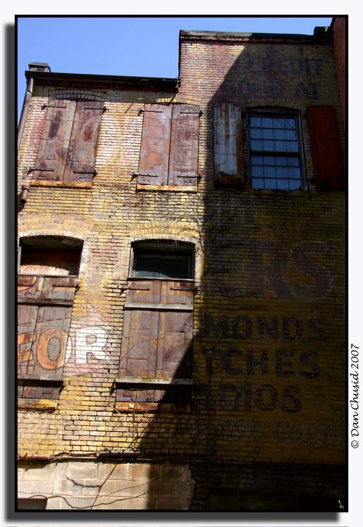 Baltimore Alleyway