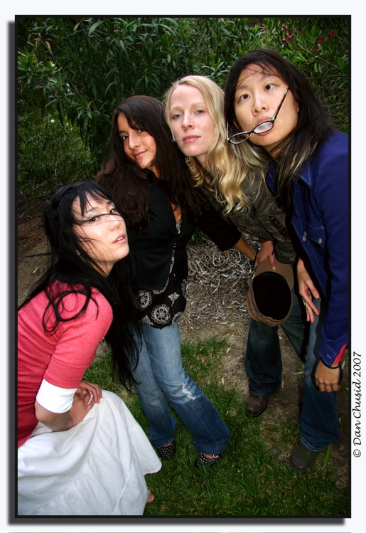 Lindsey Yung, Kim Divine, Renata Youngblood & Jane Lui