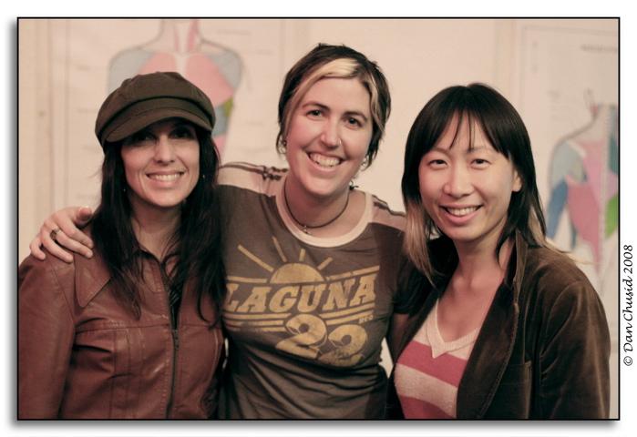 Carrie Clark, Camille Bloom & Jane Lui