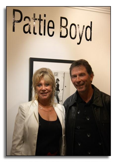 Pattie Boyd & Photographer