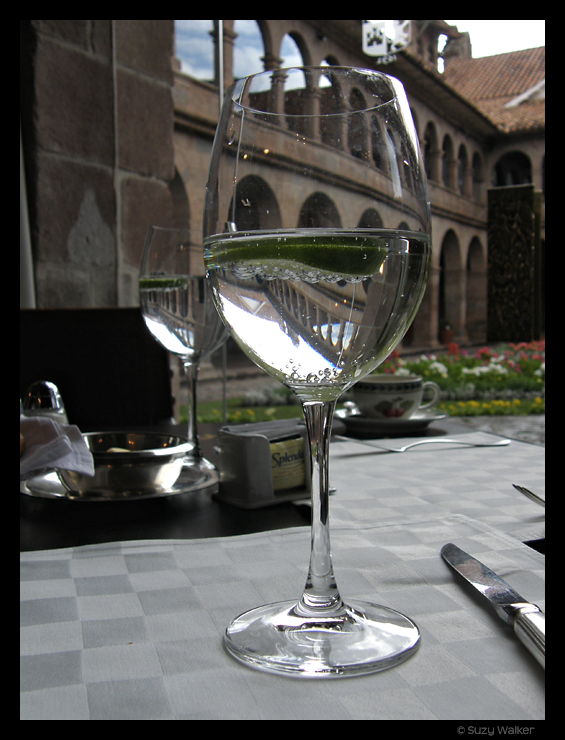 Lunch at the Monasterio Hotel, Cusco