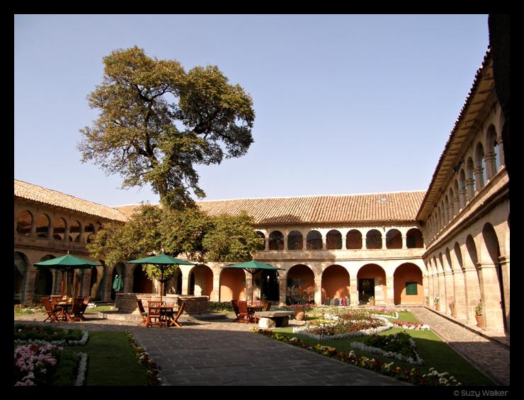 Courtyard, Monasterio Hotel, Cusco