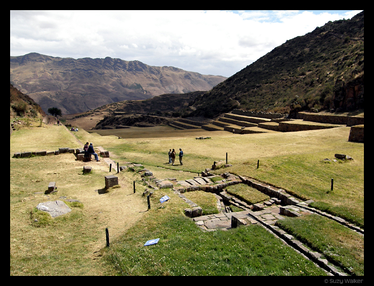Tipon, outside Cusco, view from the top