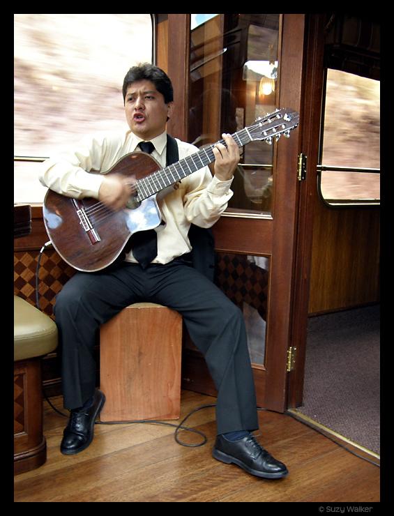 El Mariachi on Hiram Bingham Train