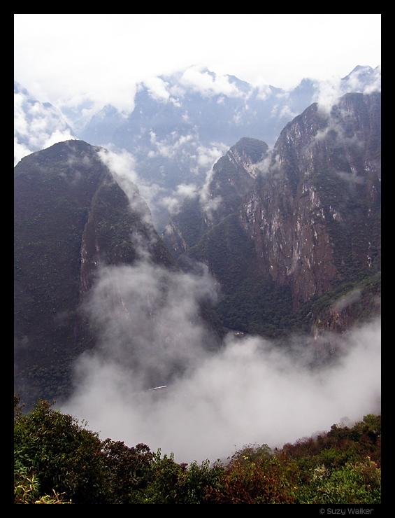 Early morning, Machu Picchu
