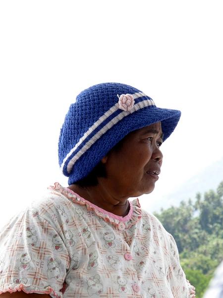 Tradeswoman, Sulawesi, Indonesia