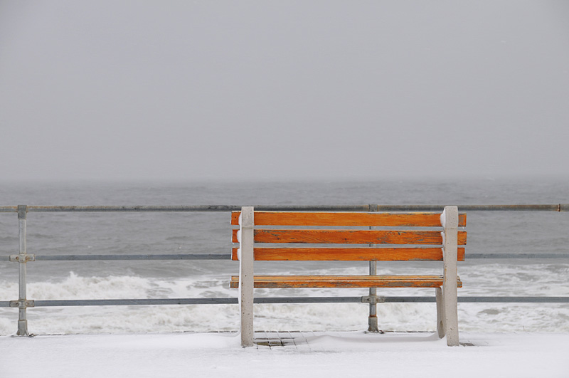 A Bench On The Boardwalk