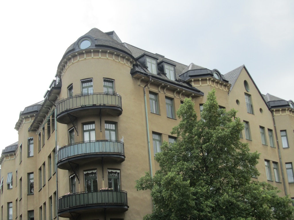 out on the streets in Östermalm