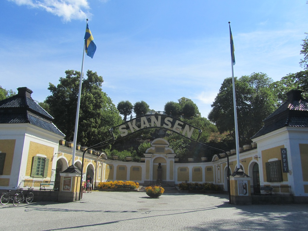 now were moving on to Skansen
