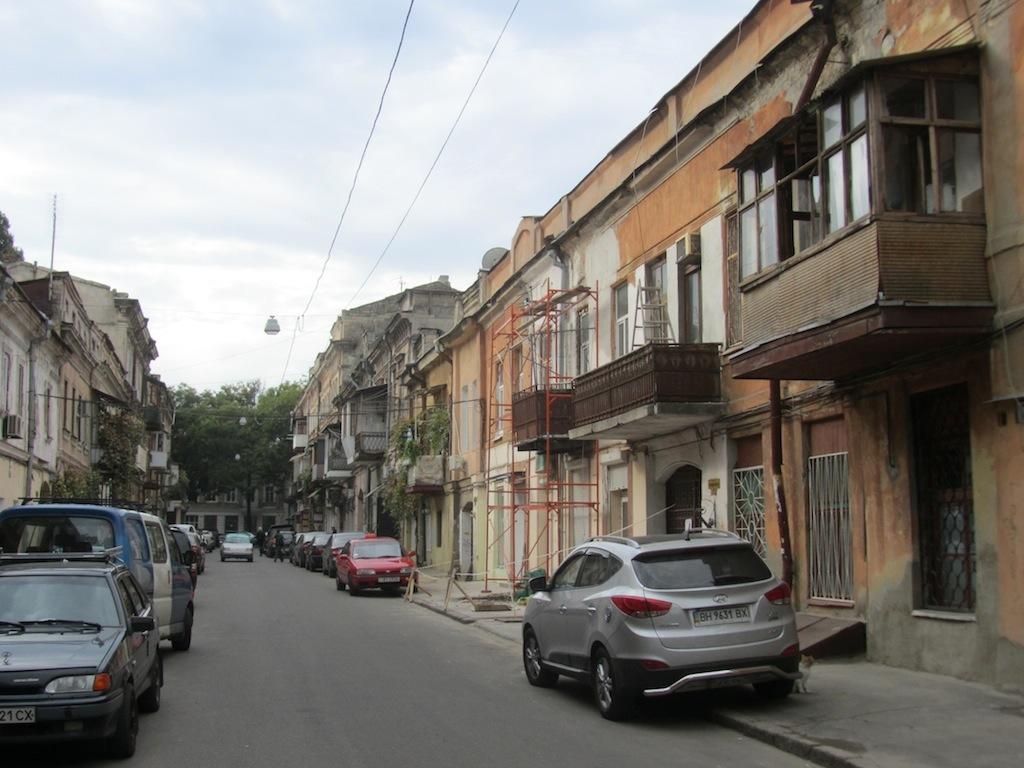 a quieter and less ostentatious neighborhood