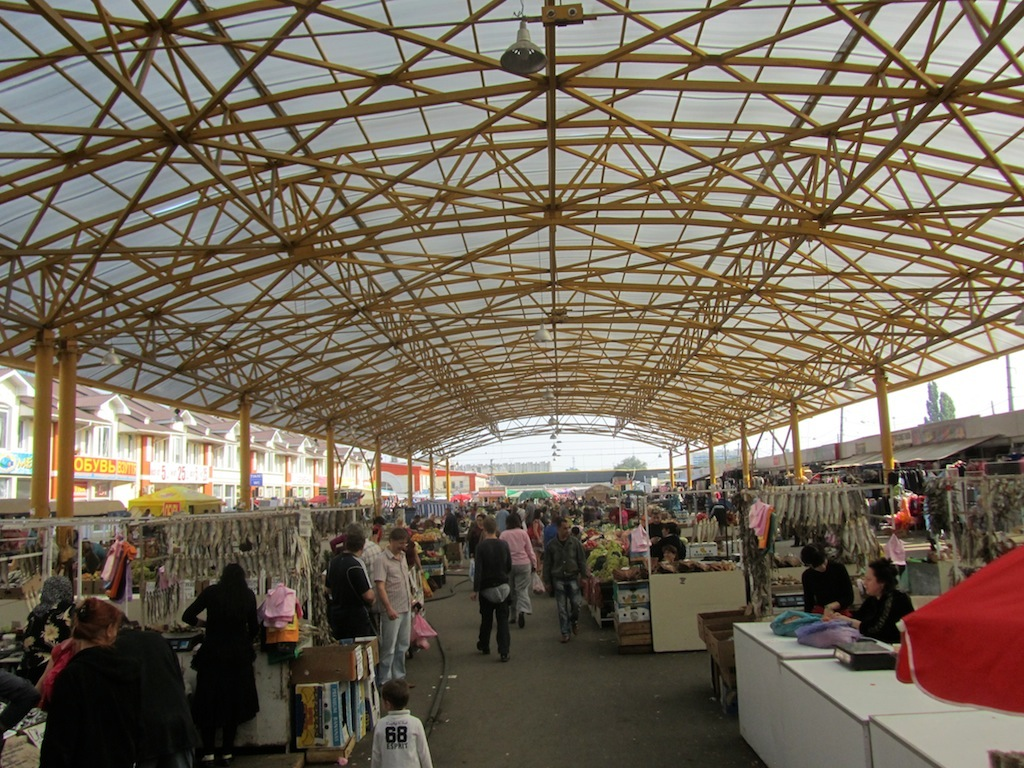 the market complex includes many structures like this