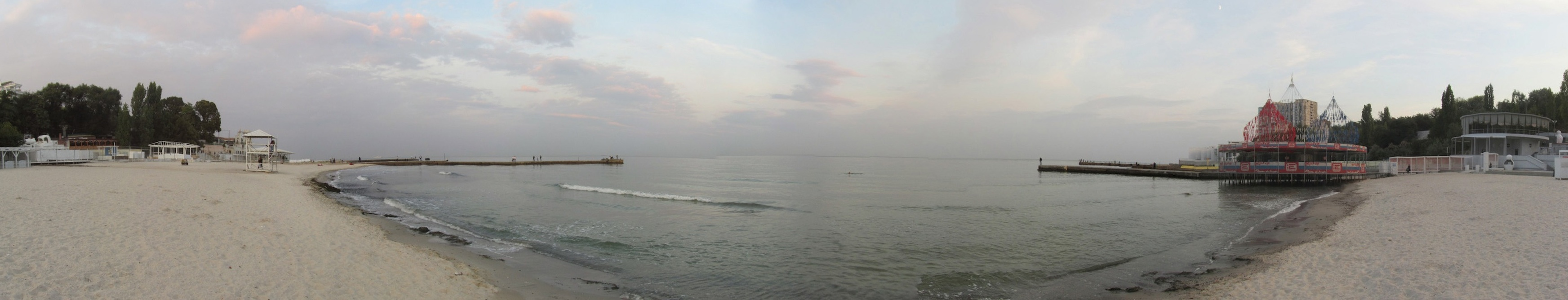 pano: Arkadia beach on the Black Sea