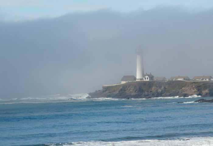 Pigeon Point fog