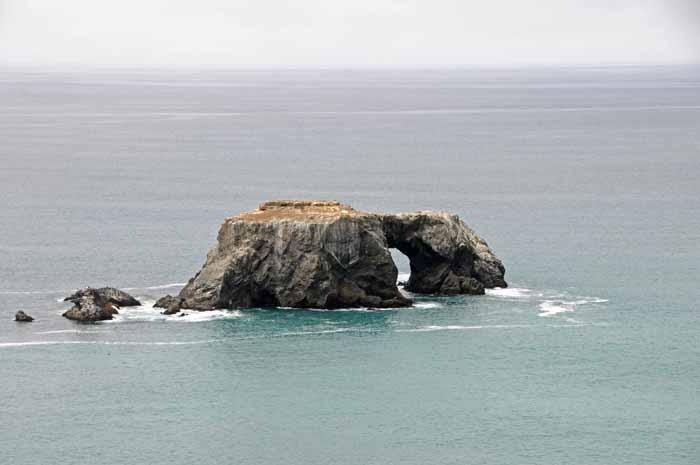 Sonoma Coast, Goat Rock scene