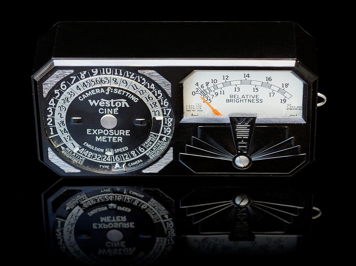 Weston Ciné Exposure meter, Mod. 819 ©
