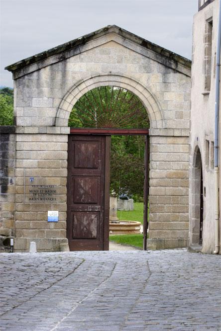 Entrée du jardin de lévêché