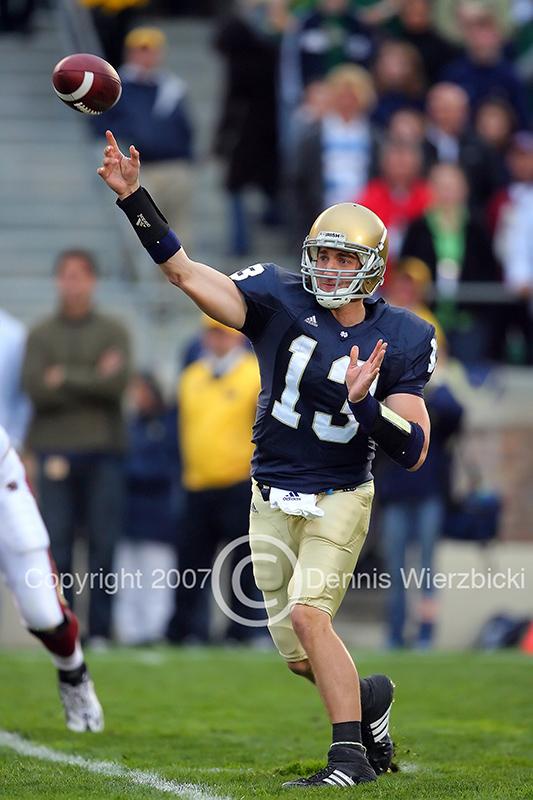 Notre Dame QB Evan Sharpley 01.jpg