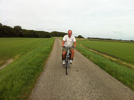 fietstripje rond Zierikzee